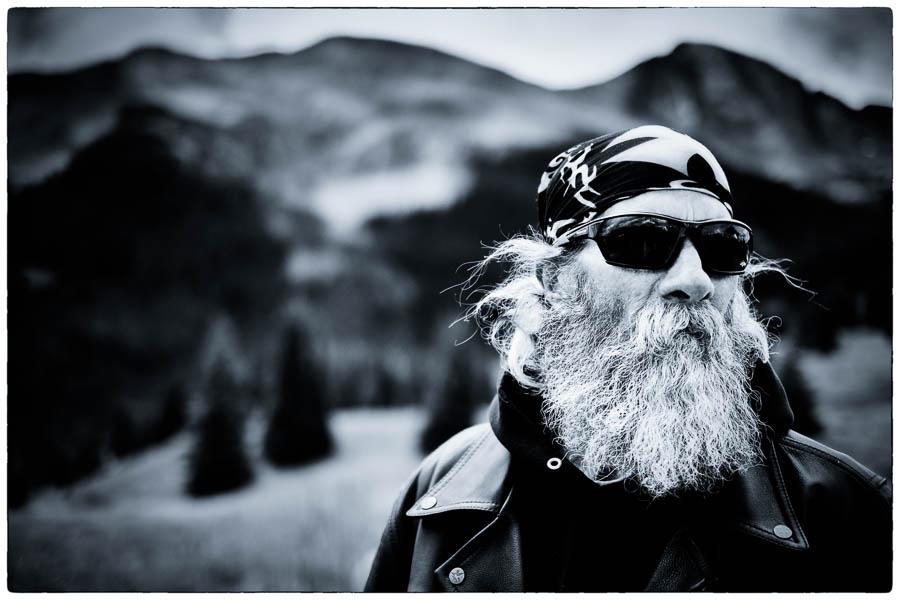 Out back John - Silverton - Harley Davidson - Motortour USA - © Fotografie: Martin Hogeboom