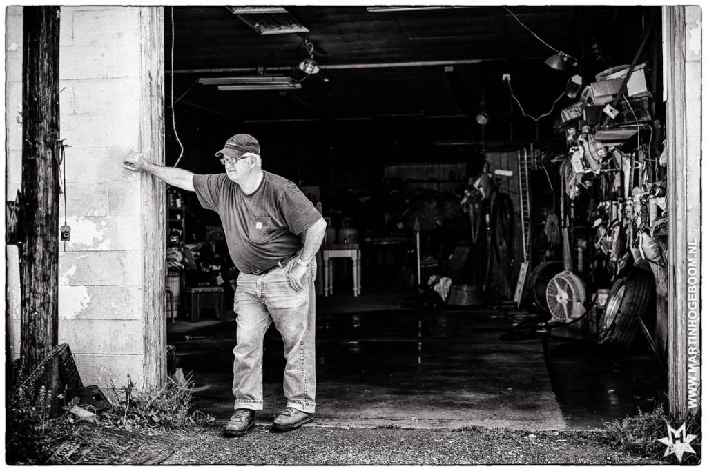 fred's garage - © Fotografie: Martin Hogeboom