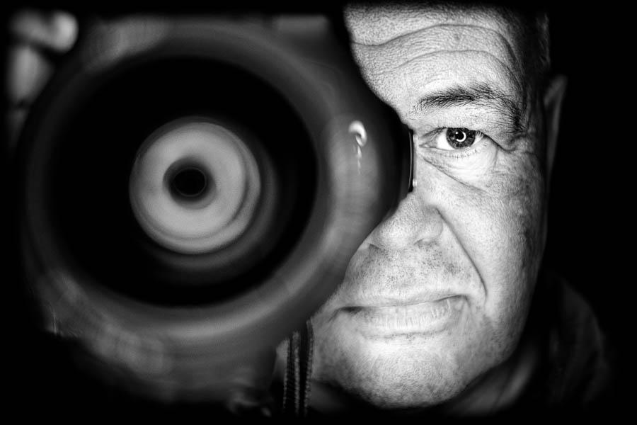 Ron Oostveen, fotograaf en uitgever van digitaal fotografie magazine CloseUp - © Fotografie: Martin Hogeboom