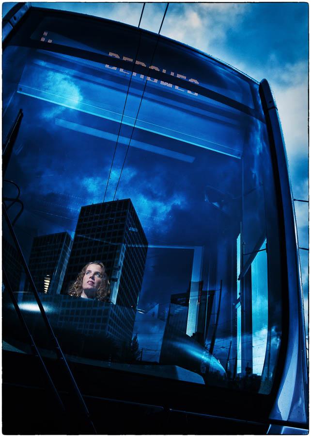 Fotografie voor een boek over tramlijn 4 in Rotterdam - fotografie Martin Hogeboom