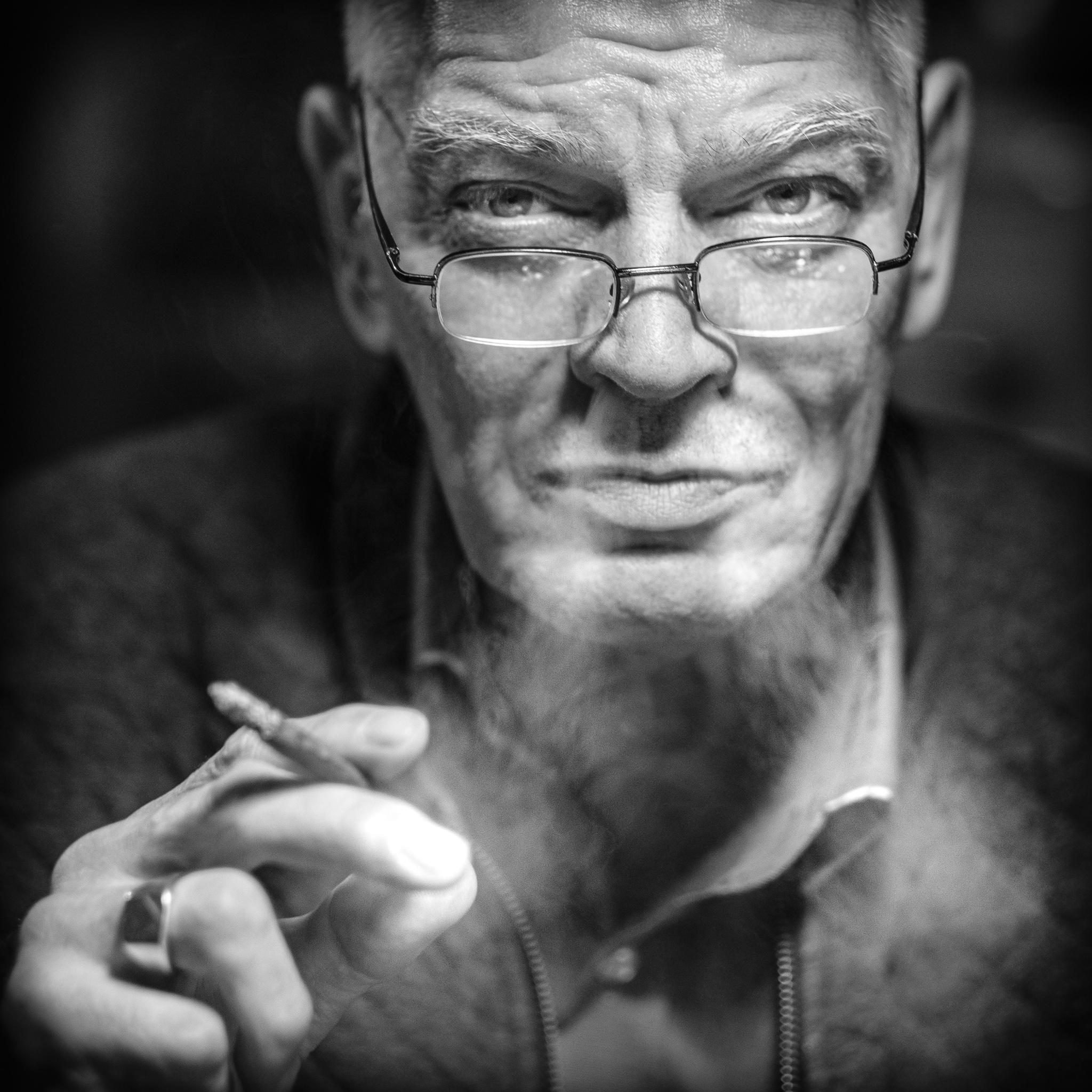 Rien Breemans, voorzitter van de Beemans vergadering en directeur van Breemans Historisch Museum - © Fotografie: Martin Hogeboom